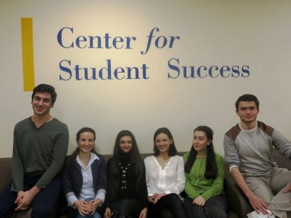 Welcome to the Center for Student Success!